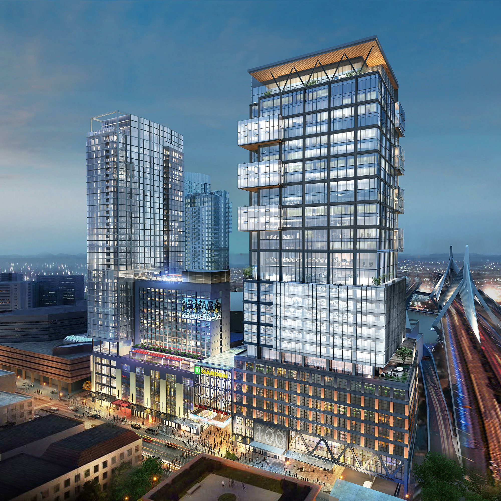 The HUB on Causeway – Boston Garden Office Tower